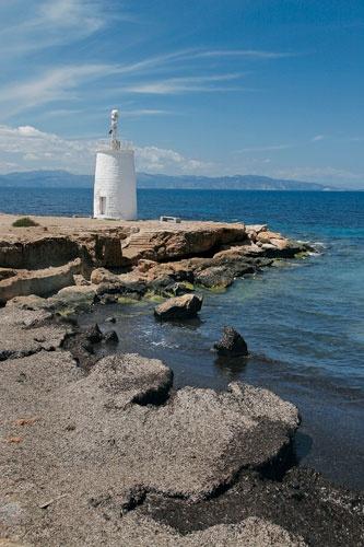 Plakakia Lighthouse, Aegina Island