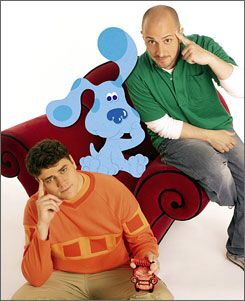 Steve burn and Donovan Patton are the host of Blue's Clues.