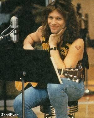 Jon Bon Jovi being adorable.