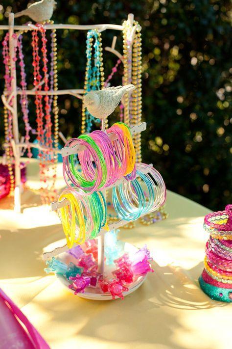 Disney Princess Birthday Party: The Sparkle Station! KidsPartyTimeRentals.com