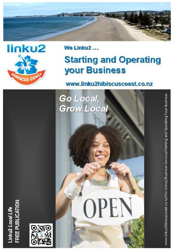 Hibiscus Coast Starting and Operating a Business cover - Winter 2013