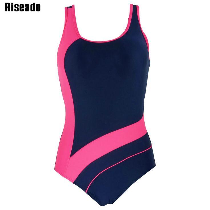 Riseado 2017 New One Piece Swimsuit Swimwear Women Sport Sexy Backless Bodysuits Swimsuits Bathing Suits #shoes, #jewelry, #women, #men, #hats, #watches