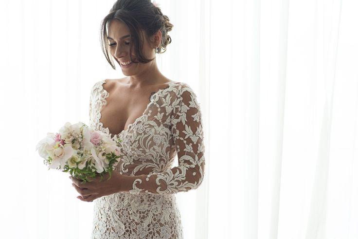 Look da noiva - Casamento ao ar livre Foto Marcio Monteiro
