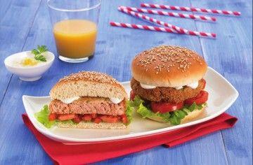 Hamburger di tonno - Chef ASDOMAR