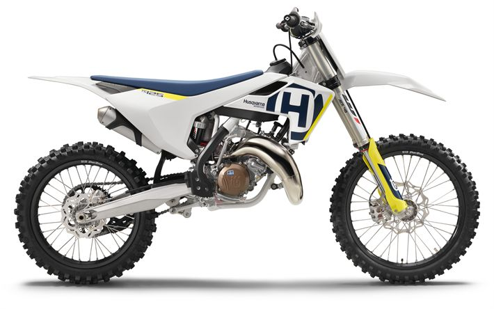 Télécharger fonds d'écran Husqvarna MY18, en 2017, de Motocross, de nouvelles motos, Husqvarna