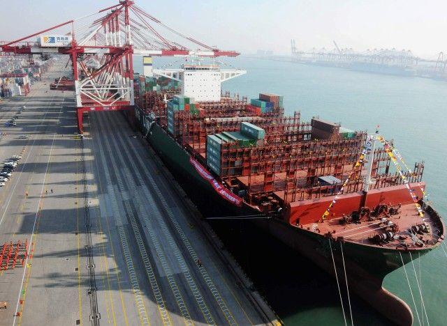 CSCL Globe: Αυτό είναι το μεγαλύτερο πλοίο μεταφοράς εμπορευματοκιβωτίων στον κόσμο