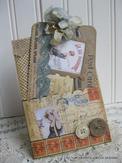 sea fun: Vintage Postcards, Atc S Tags, Cherries Jubilant, Scrapbook Postcards, Scrapbook Cards Tags, Cherries Jubilee, Stamps, Dreams Cars, Cherry Jubilee