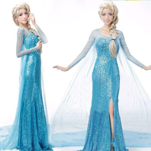 HOT-ADULTS-PRINCESS-ELSA-STYLE-COSTUME-FANCY-DRESS-PARTY-PRICE-FROZEN-CHRISTMAS