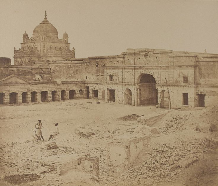 The place in which General Neil was killed in the Chinese Bazaar, Indian Mutiny, Lucknow, 1858 | Online Collection | National Army Museum, London