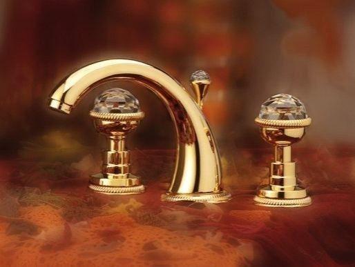 Grifo para lavabo de sobre encimera con 3 orificios - Grifos para lavabos sobre encimera ...