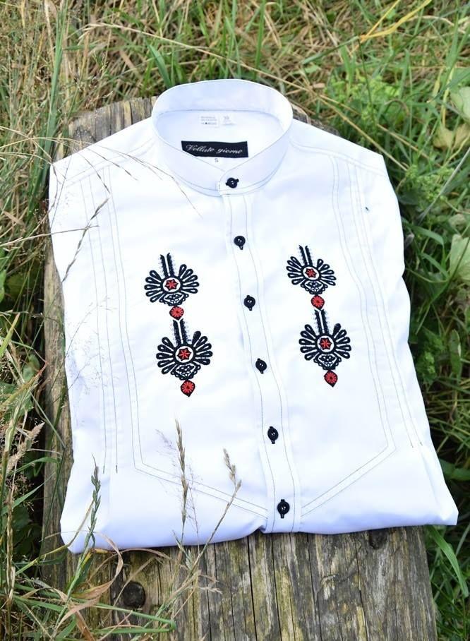 koszula folkowa, góralska, parzenica