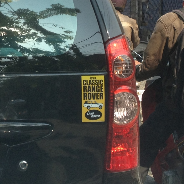 Land Rover enthusiast Daihatsu Xenia :)