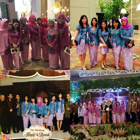 My what so called Bridesmaid #flower #pink #tosca #kutubaru #kebaya #proudindonesian