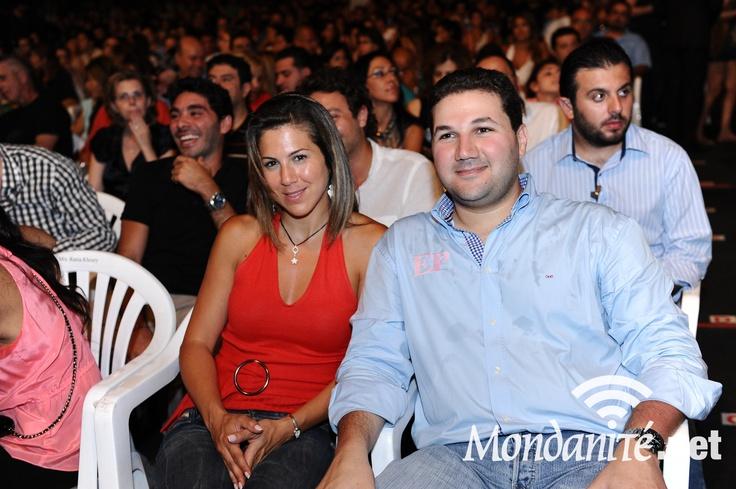 Nadim Gemayel at Chris De Burg Concert