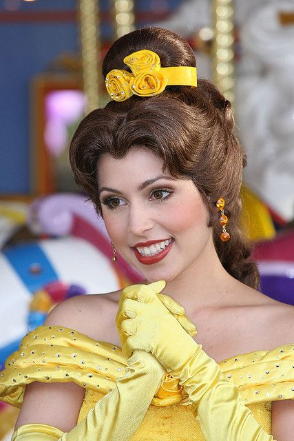 Belle Makeup | Princess Belle, Beauty and the Beast | Flickr - Photo Sharing!