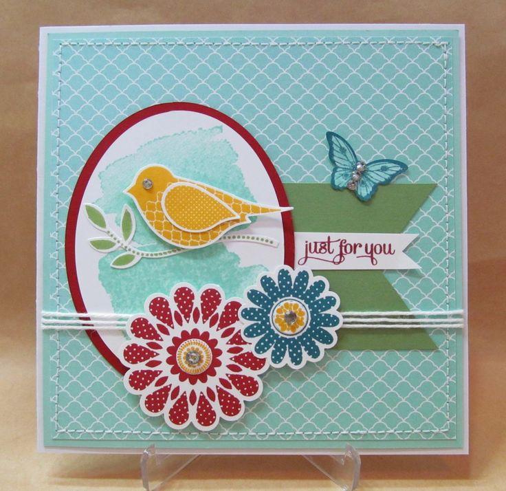Savvy Handmade Cards: Polka-Dot Pieces Card