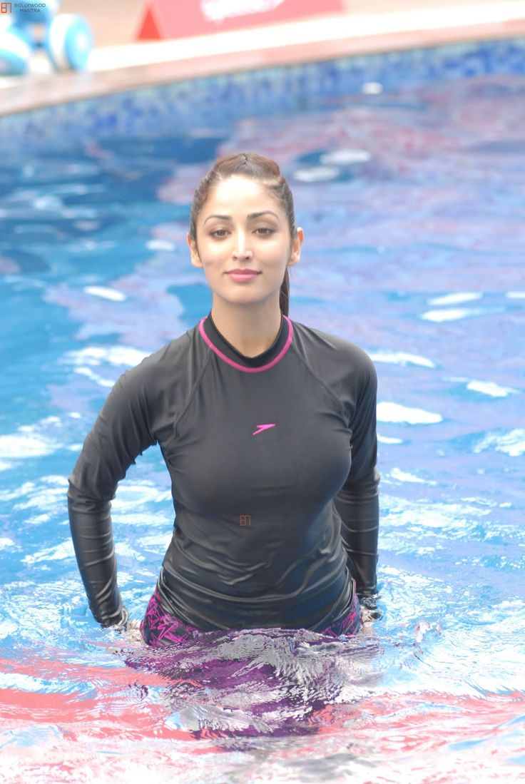 Hot Water Yoga: HOT Yami Gautam in Swimming Pool Photos ...