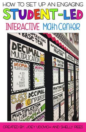 Creating a Student-Led Classroom and Math Centers for 3rd, 4th, and 5th Grade can be easy to organize and fun for students! Tons of great ideas for organization, activities, and choice boards. Build math centers that are easy to set up, offer differentiation, save time, and help your students become independent. Ideal for homeschooling, too!