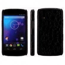 Funda Nexus 4 - Carcasa Croco Negro  AR$ 34,65