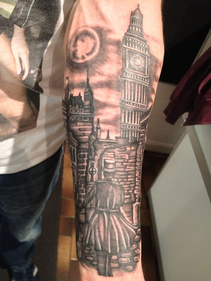 jack the ripper tattoo