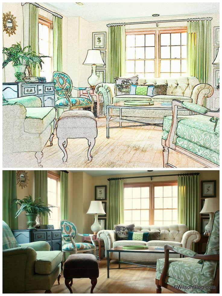 6 Wilson My DIY Living Room