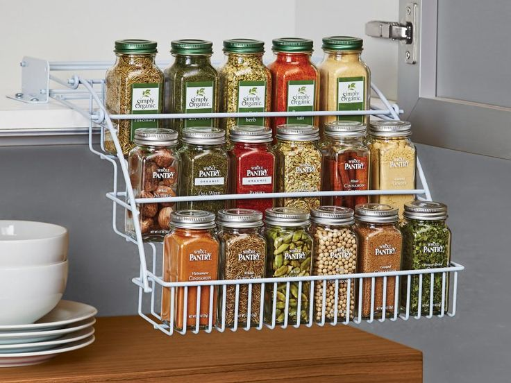 Fresh Under the Cabinet Spice organizer