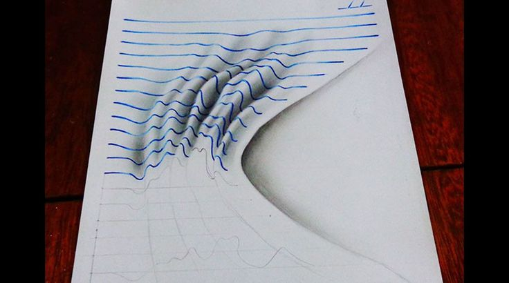 HD Drawing on paper wallpaper