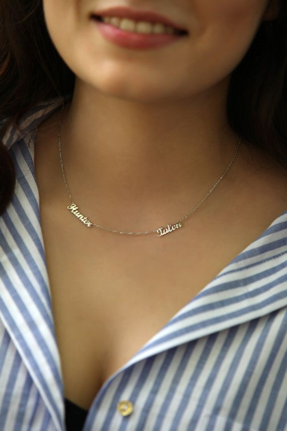 Best 25+ Name necklace ideas on Pinterest | Custom name necklace ...