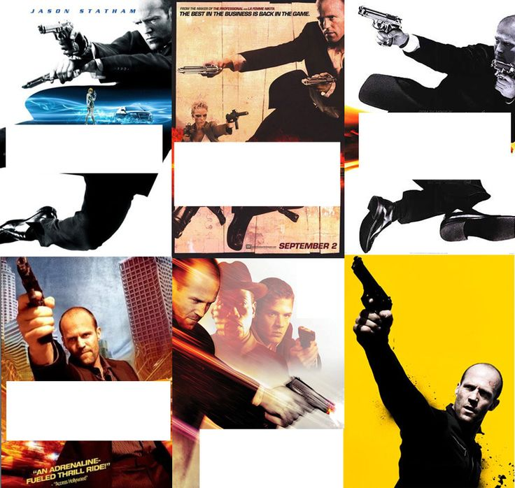 Can you tell the difference between these Jason Statham movies? ha.