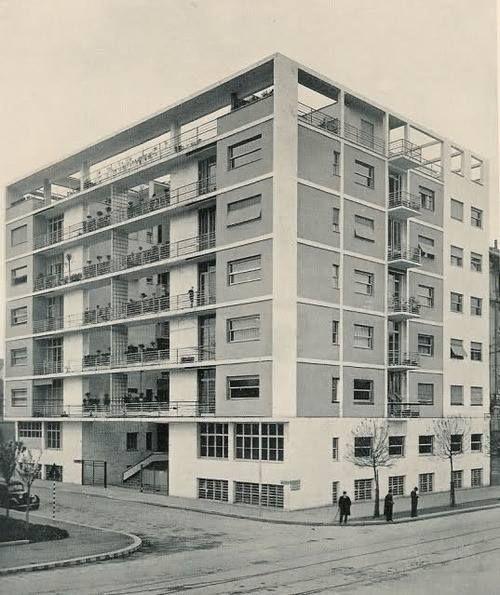 Casa Rustici (1933-1936) Milán | Giuseppe Terragni + Pietro Lingeri