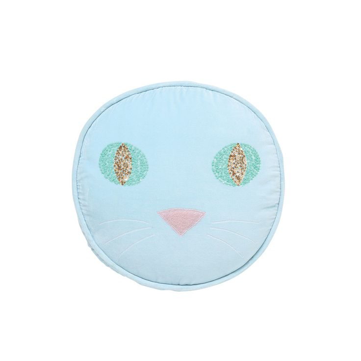 AW17 KIP&CO PUSS BABY BLUE CUSHION - Cushions - Kids