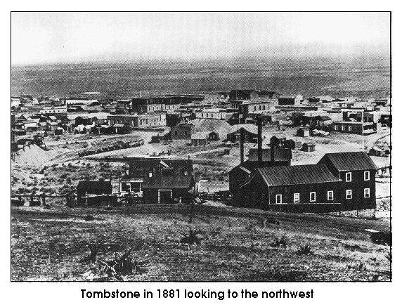 tombstone arizona history | Tombstone in 1881. Photo via Tombstone Arizona Extra Pictures