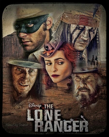 The Lone Ranger! Amazing actors! Can't wait to see this movie!