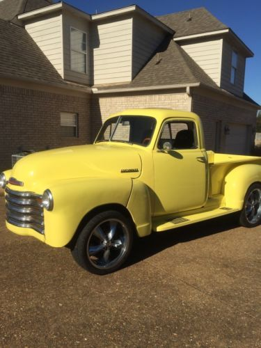 1951 Chevrolet Pickup Truck Old Trucks For Sale Vintage Classic