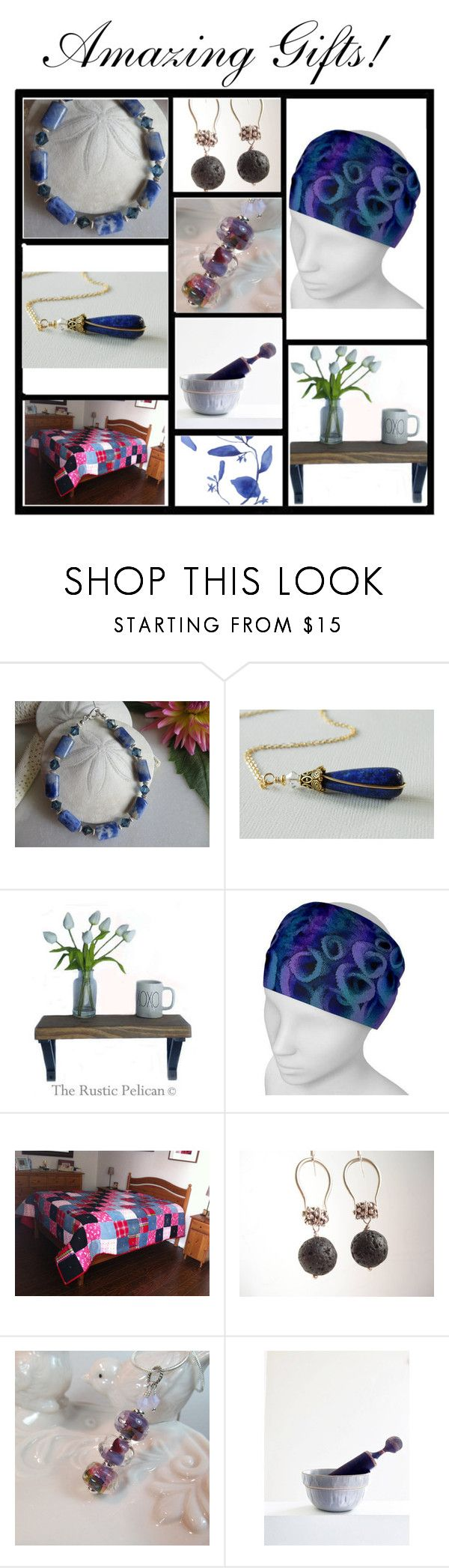 By The Rustic Pelican by therusticpelican on Polyvore featuring Lazuli, Barclay Butera, modern, contemporary, rustic and vintage