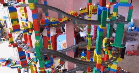 Crazy Lego Train