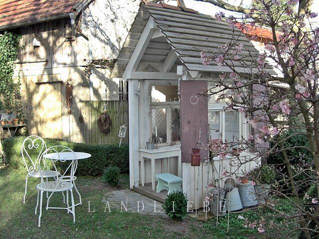 60 best Land Liebe Garden images on Pinterest Cottage gardens - cottage garten deko