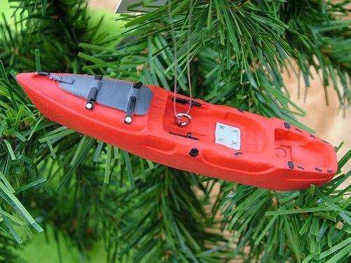 New Red Kayak Paddles River Kayaking Boat Camping Gear Christmas Tree Ornament   eBay