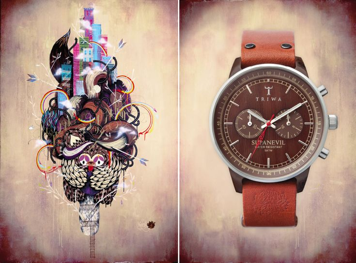 TRIWA watch company recently collaborated with popular street artists