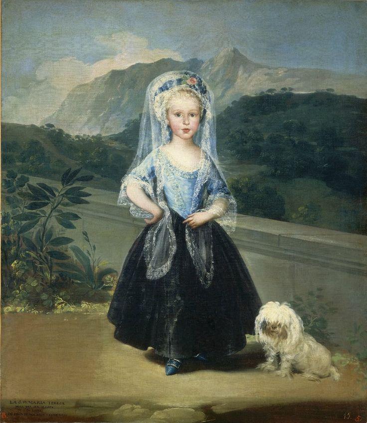 Франсиско де Гойя Мария Тереза де Бурбон и Виллабрига, позже Кондеса де Чинчон Возможность комментирования эт