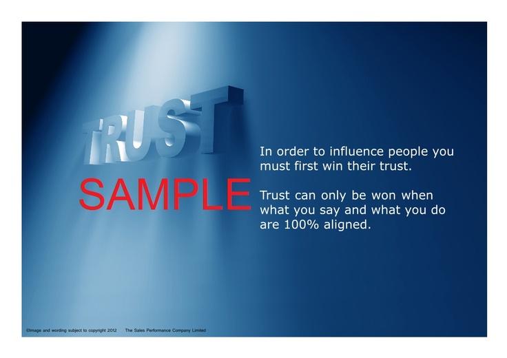 TRUST Poster - Sample