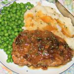 Recipe: Slow Roasted Pork Chops with Caramelized Onions | Fox in the Kitchen
