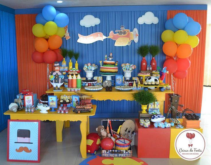 Muitas cores para o #mundosaul!  #festabita #festainfantil #festamenino…