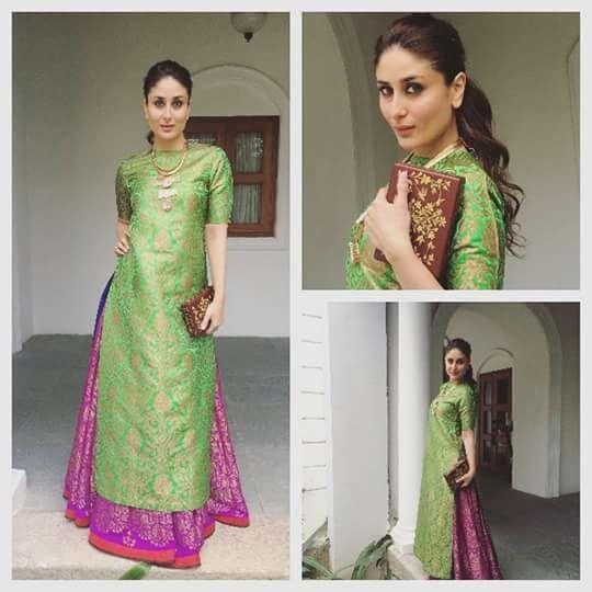 #elegance #kurti #sharara #nice #color #combination