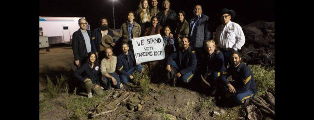 Wes Stands with Standing Rock