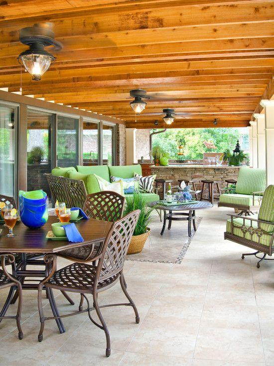 346 best back deck renovation/addition images on pinterest | porch ... - Patio Ceiling Ideas