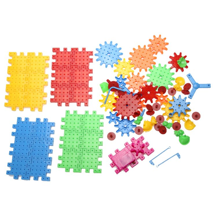 81pcs Children Plastic Building Blocks Toy Bricks DIY Assembling Classic Toys Early Educational Learning Toys
