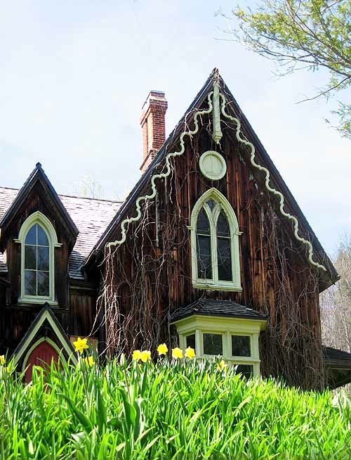 17 best images about steamboat victorian gothic revival for Gothic revival homes for sale