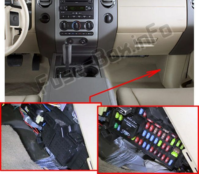 [SCHEMATICS_4LK]  Ford Expedition (U324; 2007-2014) < Fuse Box location | Ford expedition, Fuse  box, Expedition | 2007 Tundra Fuse Box Location |  | Pinterest