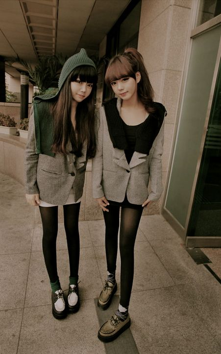 Ulzzang Girls Creepers shoes